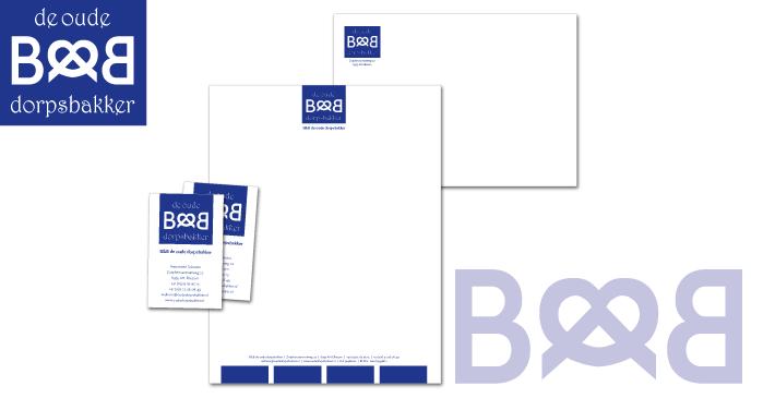 Logo en huisstijl B&B De Oude Dorpsbakker