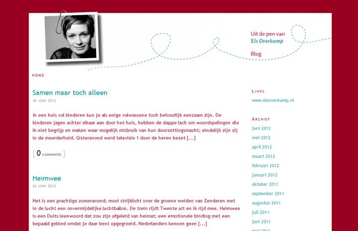 Blog Els Overkamp