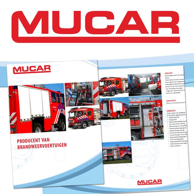 Logo en brochure Mucar