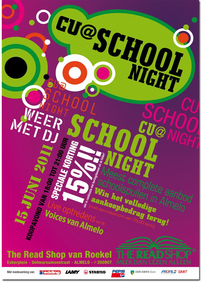 Poster CU@schoolnight