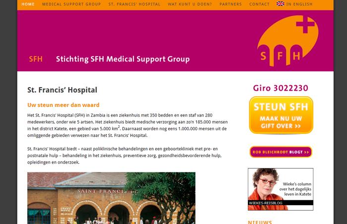 Website Medical Support Group Saint Francis Hospital