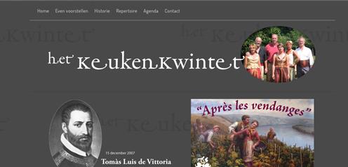 website Keukenkwintet