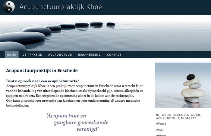 Acupunctuur Khoe Enschede
