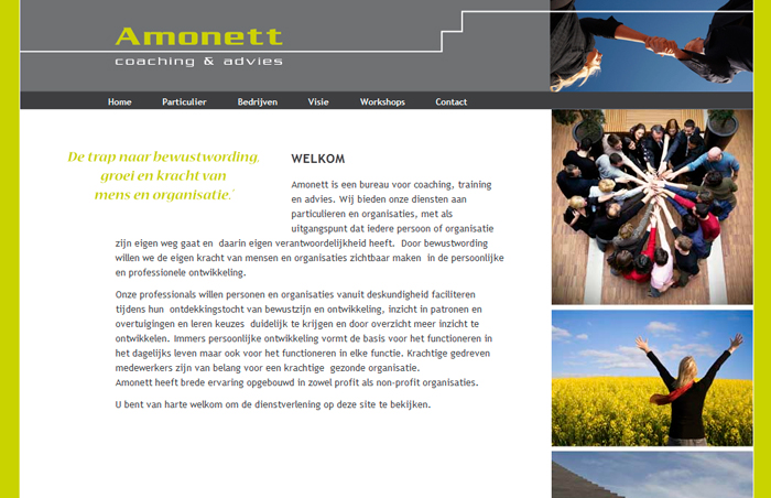 Website Amonett