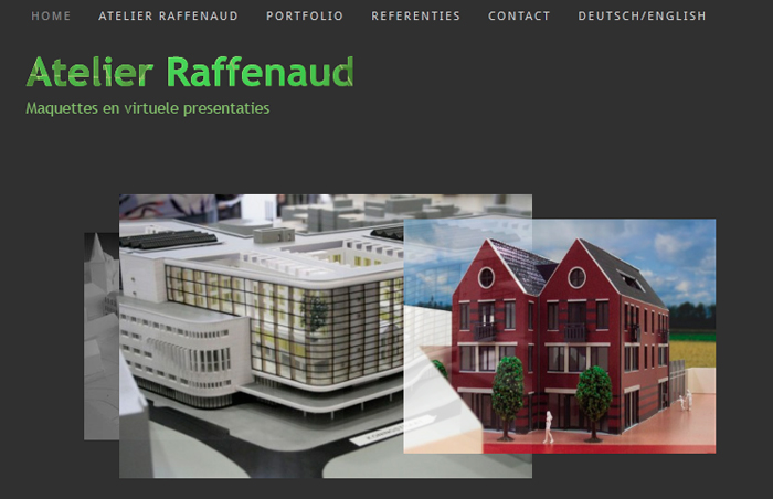 Website Atelier Raffenaud