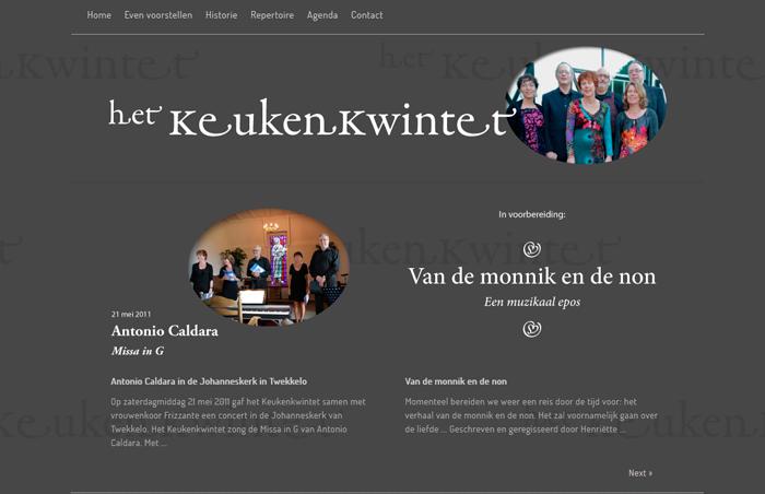 website het Keukenkwintet