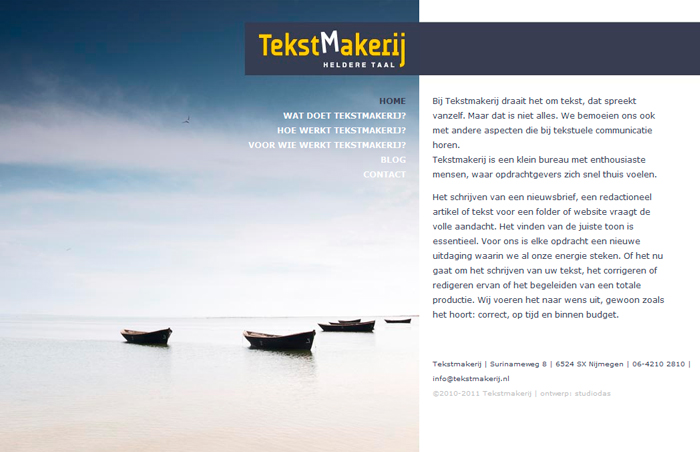 Website Tekstmakerij